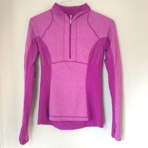 Lululemon   Runners Reversible Pullover - Pink